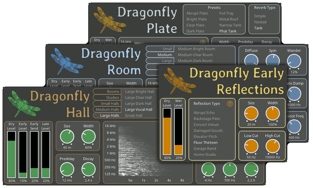 Dragonfly Reverb 3.0 Update